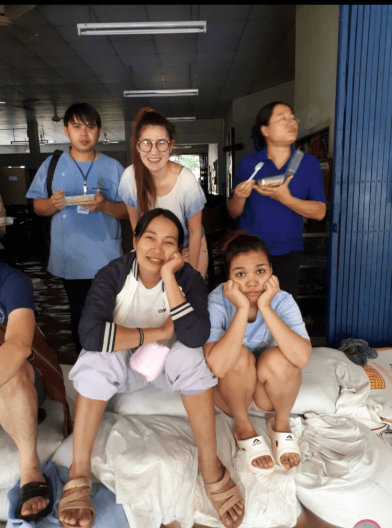 Our nurses after the flood