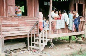 Same building, here being used for the Under 5's clinic, a health maintenance program for young children.