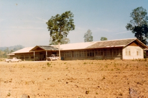"""The """"new"""" hospital in Huey Malai about 1984."""
