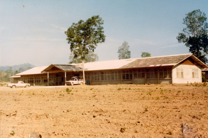 "The ""new"" hospital in Huey Malai about 1984."