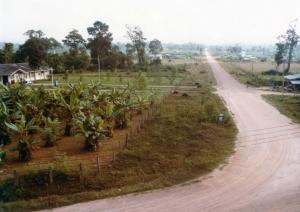 Kwai River Christian Hospital and road to Sangkla